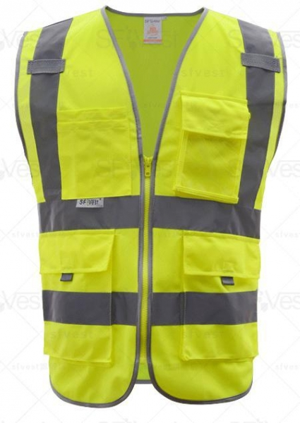 Quality Fluorescent safety vest Product number: YX-15125 for sale