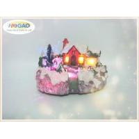 Buy cheap Christmas Art Decor Snow falls on the Lighted House from wholesalers