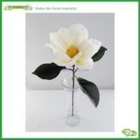 China artificial flower wholesale artificial flower heads magnolia flower on sale