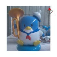 China Popular Cute Animation Character Fiberglass Figures on sale