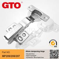 Wholesale MP209 40mm cup kitchen cupboard door hinges from china suppliers