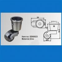 Wholesale SS60023 Metal casters , furniture caster, furniture casters, casters wheels from china suppliers