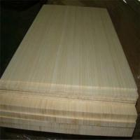 Wholesale Natural Colour and Vertical Pressed Bamboo Slabs as Furniture Facing from china suppliers