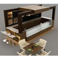 Wholesale High-end free modern design donuts food mall kiosk from china suppliers
