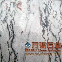 red plum blossom gray marble