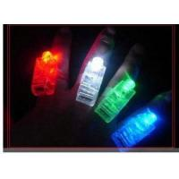 Buy cheap Flashlight HOT LED bright finger lamp/colorful LED finger lights/funny party finger lamp from wholesalers