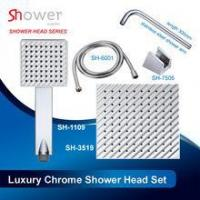 Shiny Chrome Combination of Luxury Shower Head Set