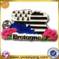 Buy cheap Top Quality polyresin magnet, polyresin fridge magnet for sale from wholesalers