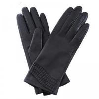 Buy cheap Women Genuine Leather Gloves Women Winter Fashion Leather Gloves GY381 from wholesalers