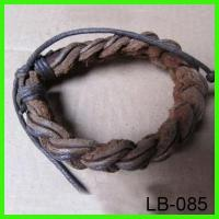 Wholesale LB-085 genuine leather bangle from china suppliers