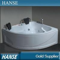 Wholesale HS-B231 cheap indoor sex simple acrylic small jet bathtub for 2 person from china suppliers