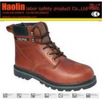 Wholesale HL-S099 crazy horse leather safety boots from china suppliers