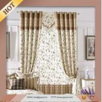 High Quality Full Blackout Curtain Design For Living Room