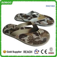Buy cheap durable beach flip flops for lady from wholesalers