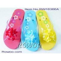 China ladies moccasin slippers RW16366A on sale