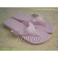 Wholesale Flat Pink Slipper RW12512 from china suppliers