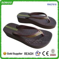 Wholesale wholesale china trendy casual women high heel flip flop from china suppliers