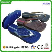 Wholesale new nude beach sandal high heel shoe cheap flip flop from china suppliers