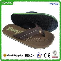 China cheap wholesale fashion leather slippers on sale