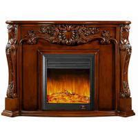 Wholesale Blender Electrical Home Decoration Classic Solid Wood Fireplaces With LED Light from china suppliers