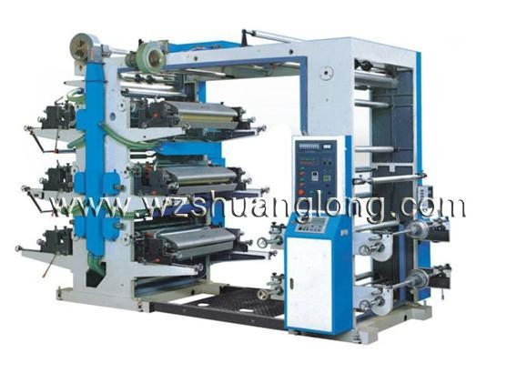Quality SL Series Six-color Flexography Printing Machine for sale