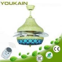 China LED Ceiling fans (high end series) 2015 youkain newest recoverable decorative modern ceiling fan on sale