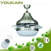 Wholesale LED Ceiling fans (high end series) decorative retractable ceiling fan from china suppliers