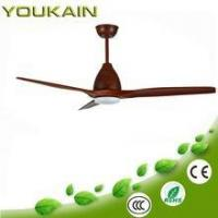 Wholesale DC motor wooden blades three blades modern design decorative ceiling fan from china suppliers