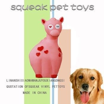 Quality Valentine's Day toys 2015 new toys for dog,PVC material vinyl toy for sale