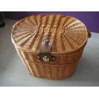 China Wicker Bicycle Baskets wholesale wicker bicycle baskets made in China on sale