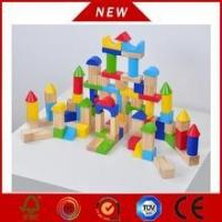 Wholesale Newest Wooden bricks toy building block from china suppliers