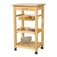 Wholesale Kitchen Trolley Series wooden kitchen serving trolley cart designs from china suppliers