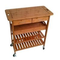 Wholesale Kitchen Trolley Series outdoor kitchen trolley bamboo,kitchen trolleys with baskets from china suppliers