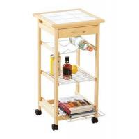 Wholesale wooden serving trolley cart,food cart from china suppliers