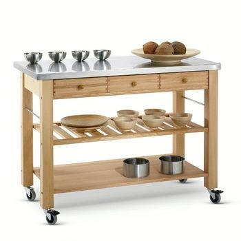 Quality Kitchen Trolley Series wooden food serving trolley cart,tea serving trolley for sale