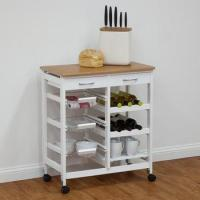 Wholesale foldable wooden kitchen trolley prices,stainless steel kitchen trolley cabinet from china suppliers