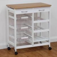 Wholesale Kitchen Trolley Series modern folding kitchen storage trolley from china suppliers