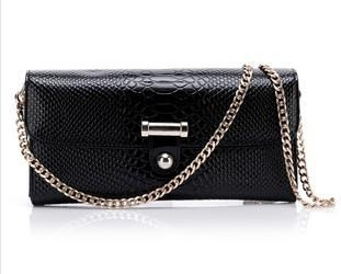 Quality Black leather bags and purses for sale