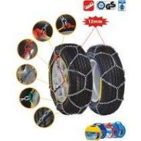 China Passenger car tire chain 12mm snow chains on sale