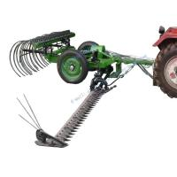 Wholesale Mowers Product name: Gear Driven Hydraulic Cutting and Raking Machine from china suppliers
