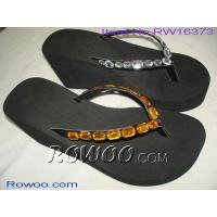 China sheepskin moccasin slippers RW16373 on sale