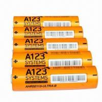 Wholesale High drain lifepo4 battery ANR32113M1 4400mah 3.2V for A123 system from china suppliers