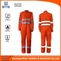 Buy cheap Flame retardant rope 100% Cotton Flame retardant coverall from wholesalers