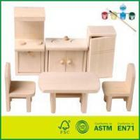 Wholesale Wooden Dollhouse Miniatures Furniture from china suppliers