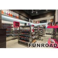 Wholesale MDF material cosmetic display shop showcase design from china suppliers