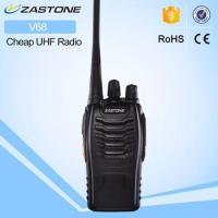 Wholesale UHF Frequency Cheap Walkie Talkie Zastone Portable Cheap FM Radio from china suppliers