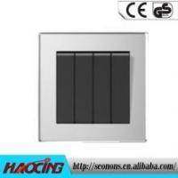Wholesale 2015 Best Type 4 Gang Wall Switch With Timer from china suppliers