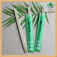 Wholesale Twins bamboo chopsticks half cover from china suppliers