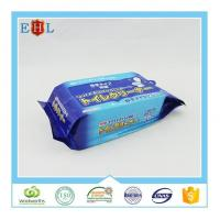 China Household wet wipes 25 counts popular flushable toilet wet wipe/bathroom cleaning flushable wipe on sale
