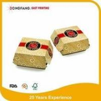 Wholesale burger wrapping paper box from china suppliers